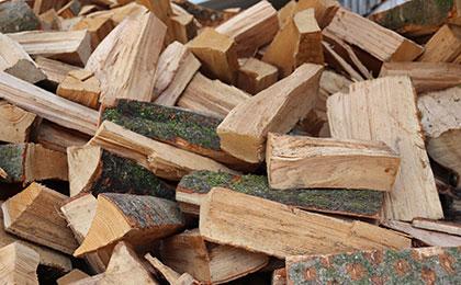 Brennholz Scheits